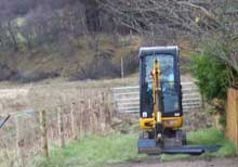 Groundworks and ground clearances NDW Dufftown Moray